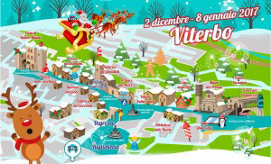 Percorso del Caffeina Christmas Village